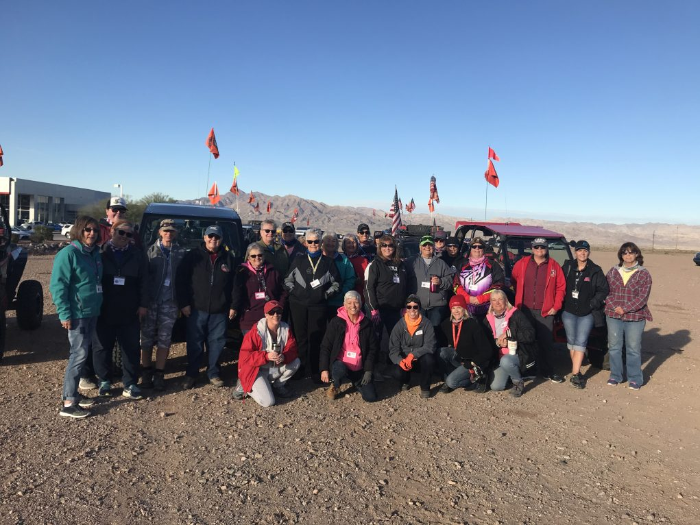 Side By Side Trail Association Riders Enjoy The Desert On Chix Ride