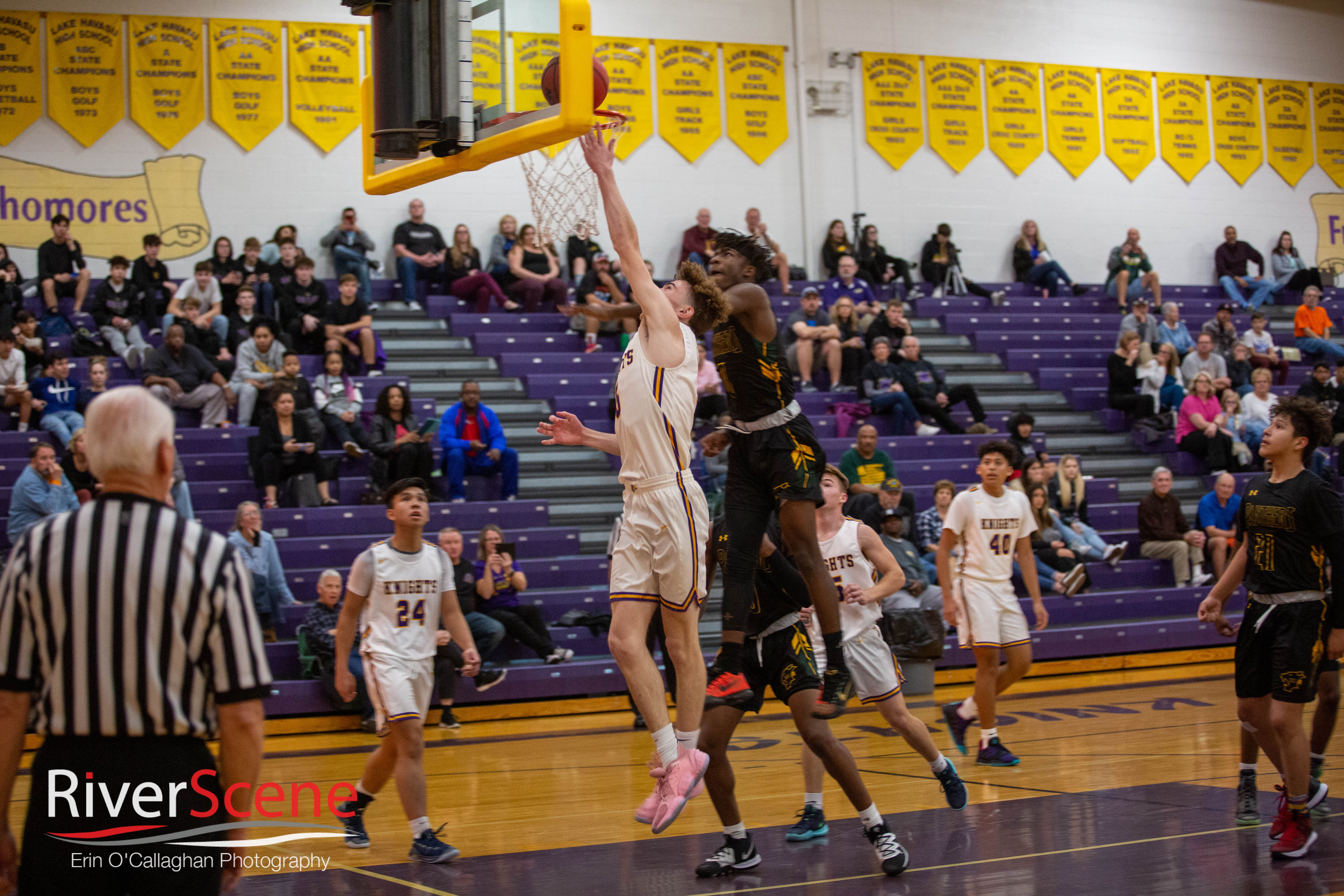LHHS Knights Fell To Peoria Panthers On The Hardwood – Tipoff Tonight VS River Valley