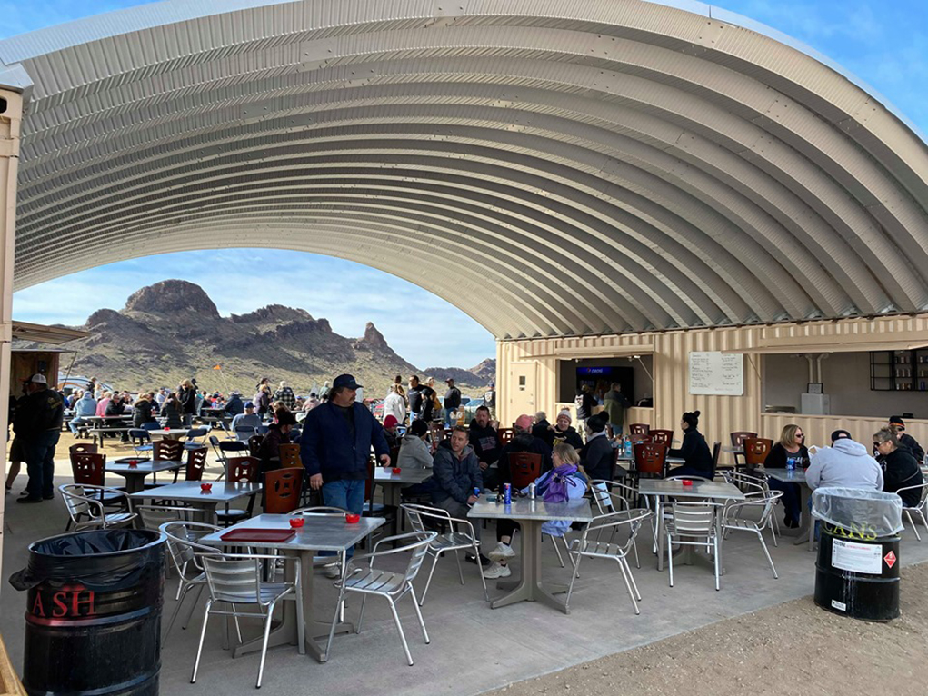 A New Desert Bar – The Bunker – Opened On New Years Day