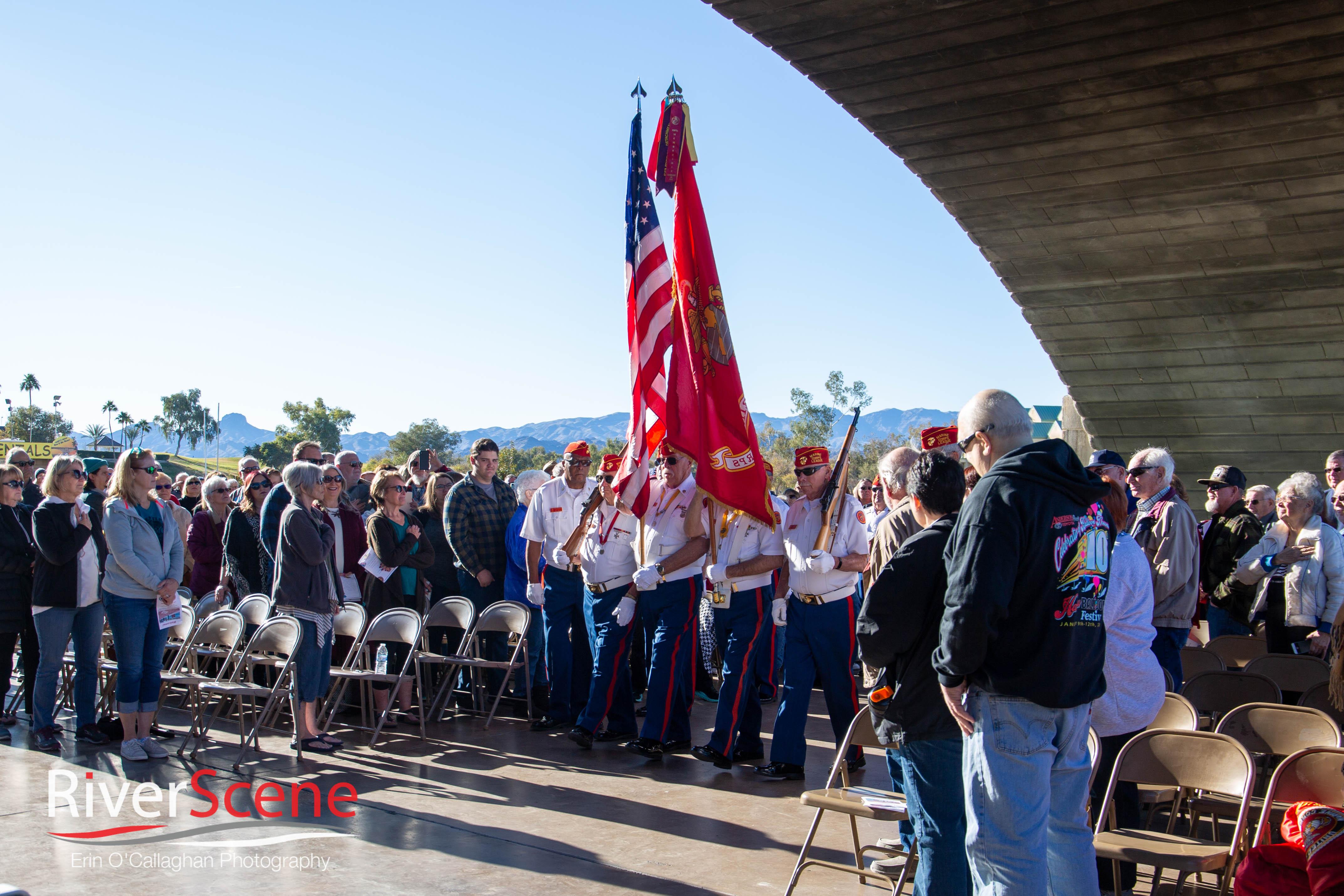 A New Section of Havasu Memorial Walkway Unveiled Saturday