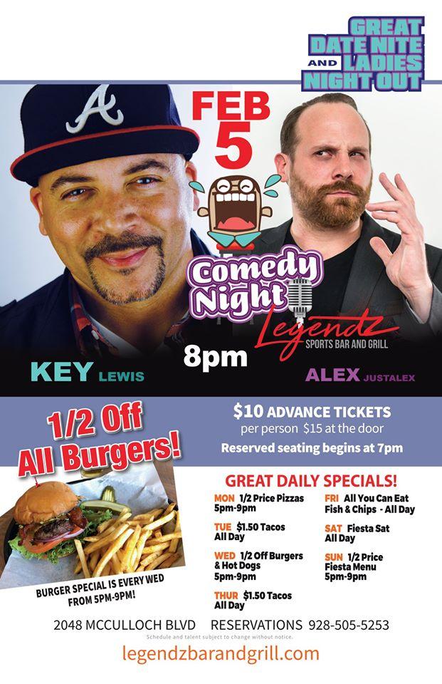 Comedy Night at Legendz