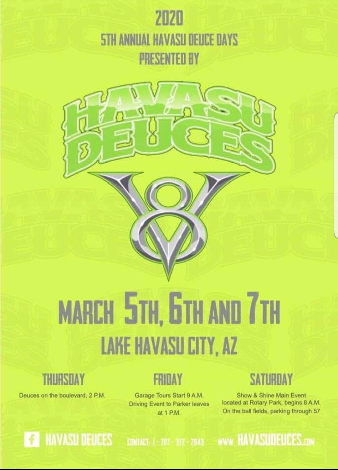 Havasu Deuce Days