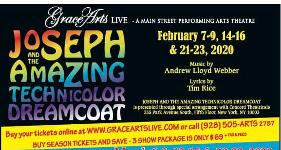 Grace Arts Live Presents Joseph And The Amazing Technicolor Dreamcoat