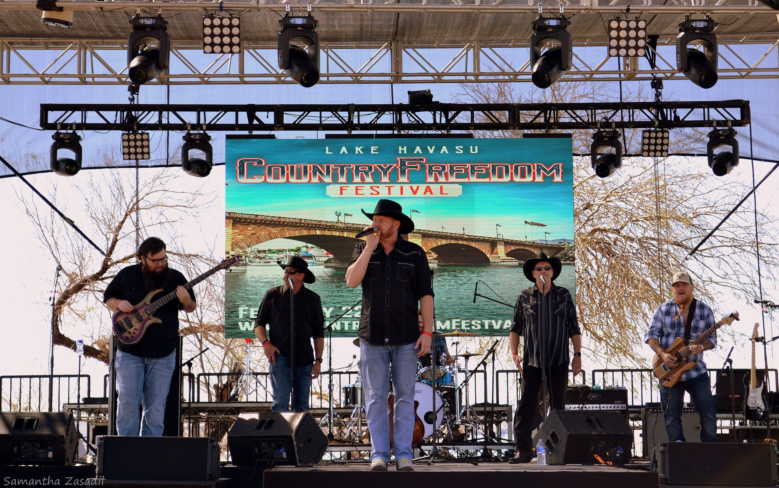 Country Music Festival Celebrated Freedom