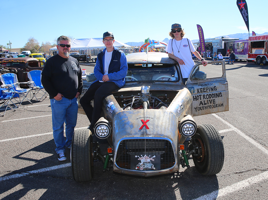 Area Youth Program Project Displayed At Rockabilly Reunion