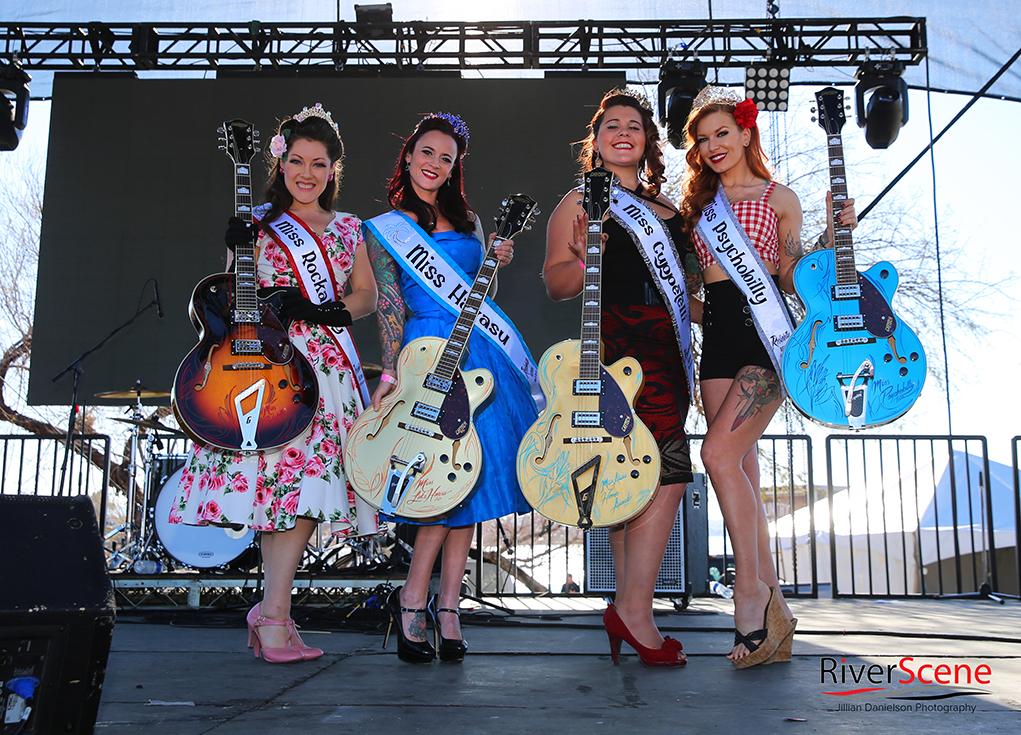 Havasu Local Lindsay German Wins Miss Havasu At Rockabilly Reunion