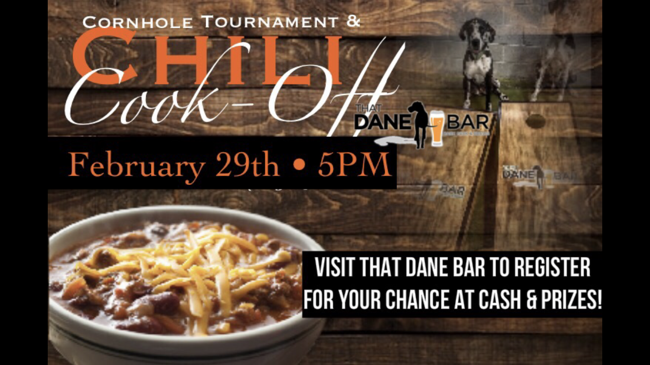 That Dane Bar Chili Cook-Off & Cornhole Tournament
