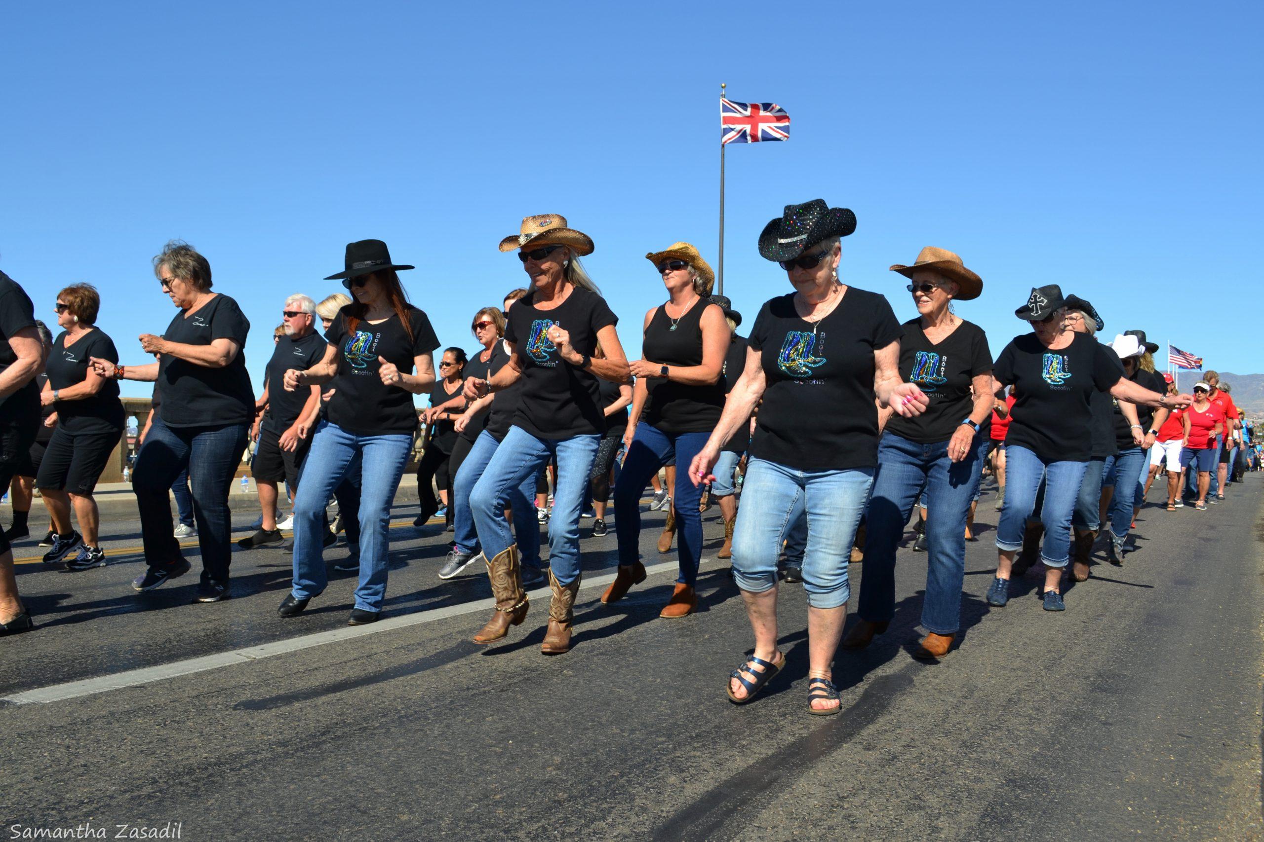 Line Dancers Comandeer London Bridge Sunday For 9th Annual Event
