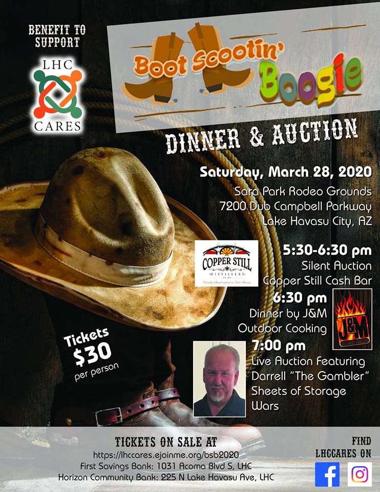 Boot Scootin Boogie Dinner and Auction