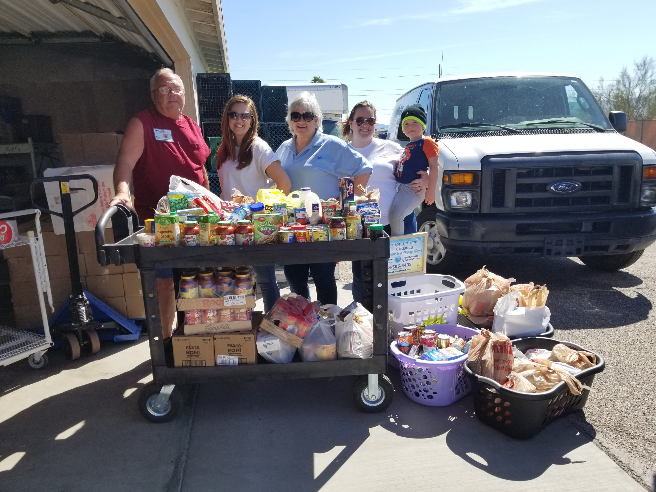 Lake Havasu Food Bank Receives Much Needed Donations From Local Businesses