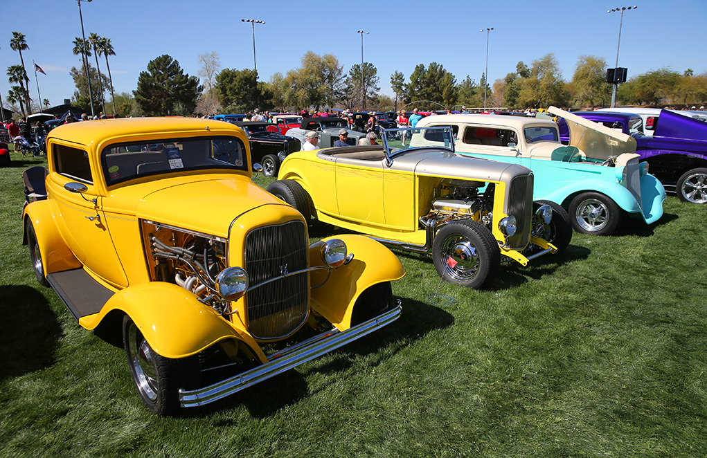 Havasu Deuces Celebrated Vintage '32-Fords