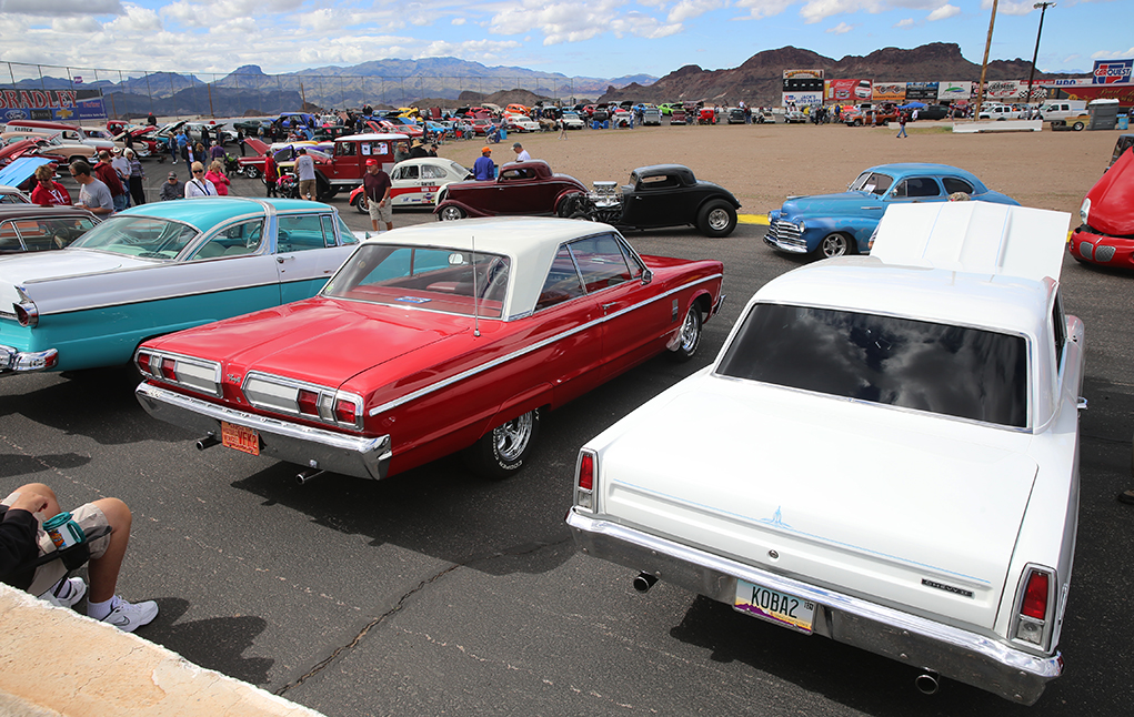 Car And Bike Fans Gathered For Crossroads Show Saturday