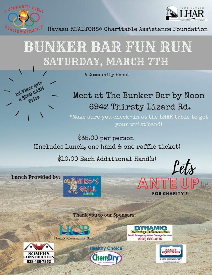 Realtor Olympics Bunker Bar Fun Run