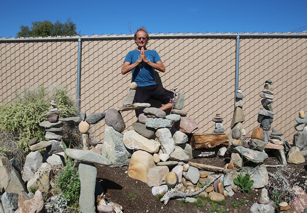 Havasu's John West Designs Beautiful Rock Garden Along Pima Wash Trail