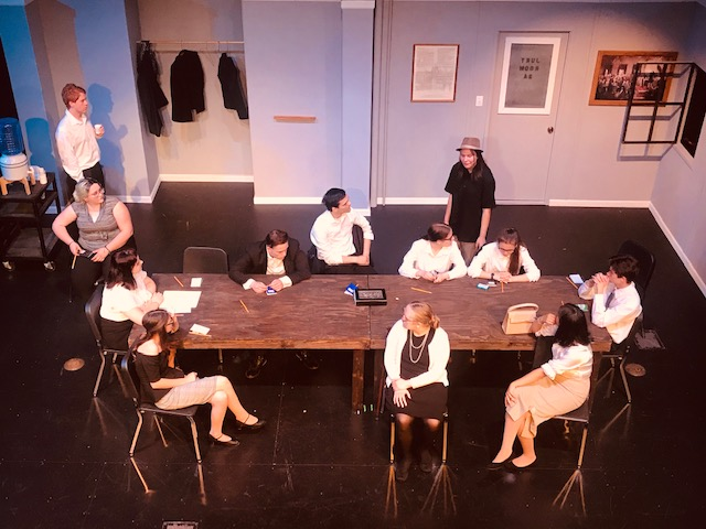 '12 Angry Jurors' Takes The LHHS Theatre Stage
