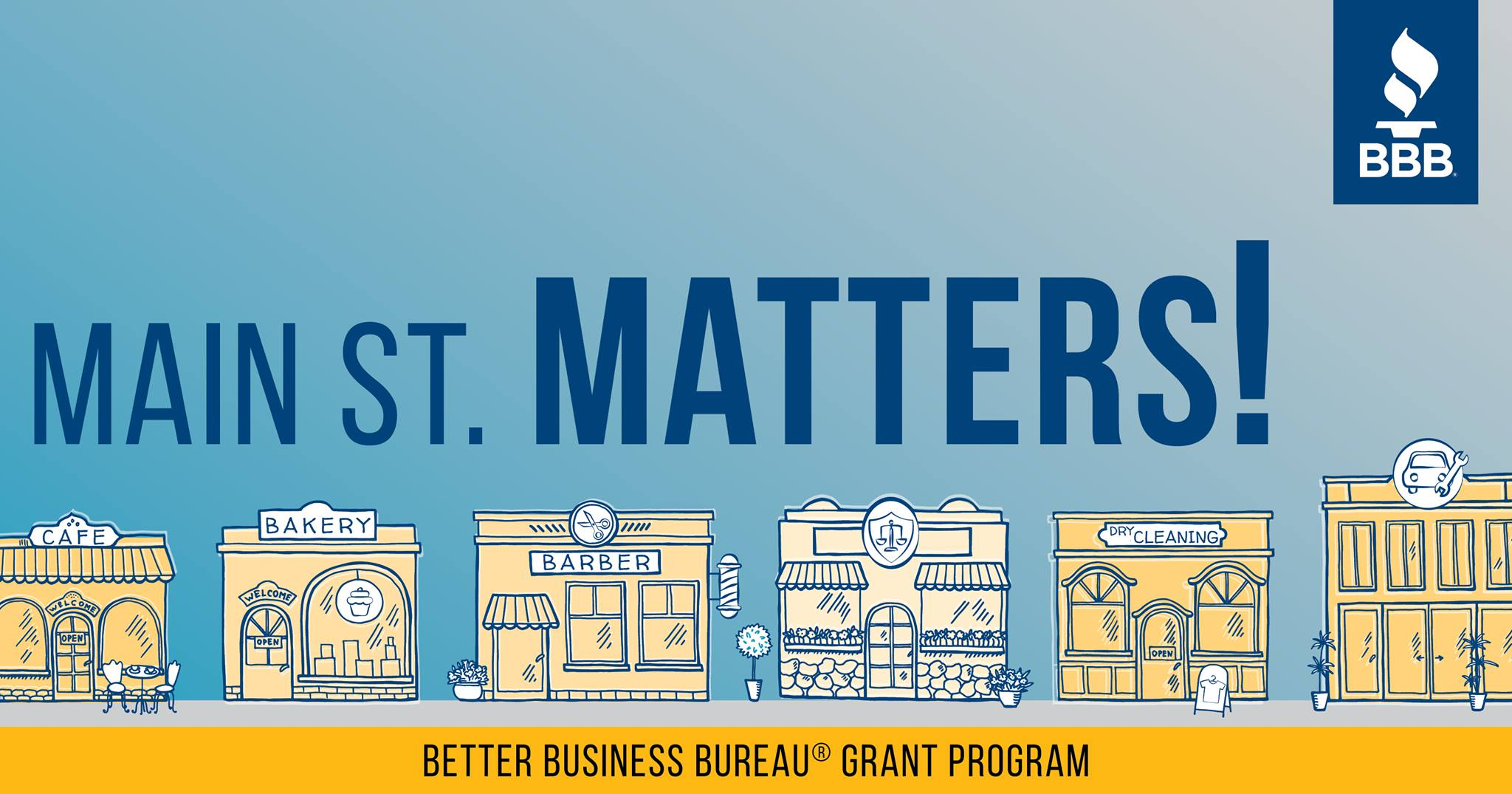BBB Serving the Pacific Southwest Launches Main St. Matters Grant Program