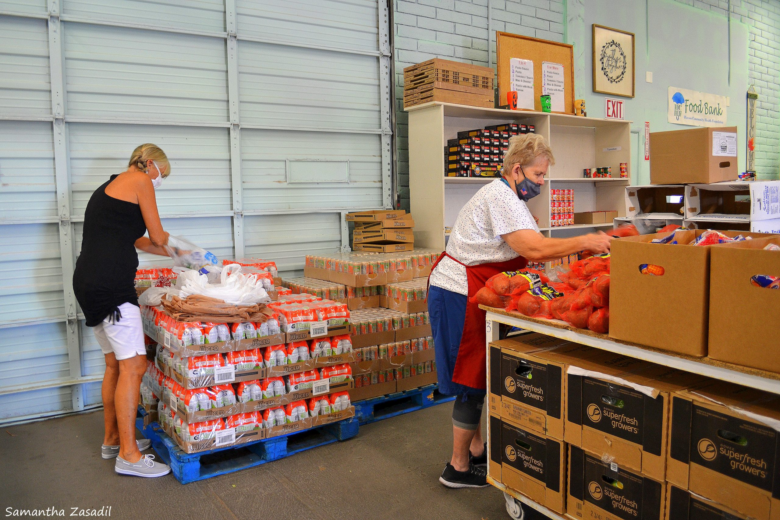 The Food Bank Celebrates Two-Year Anniversary Thanks To Volunteers And Donations