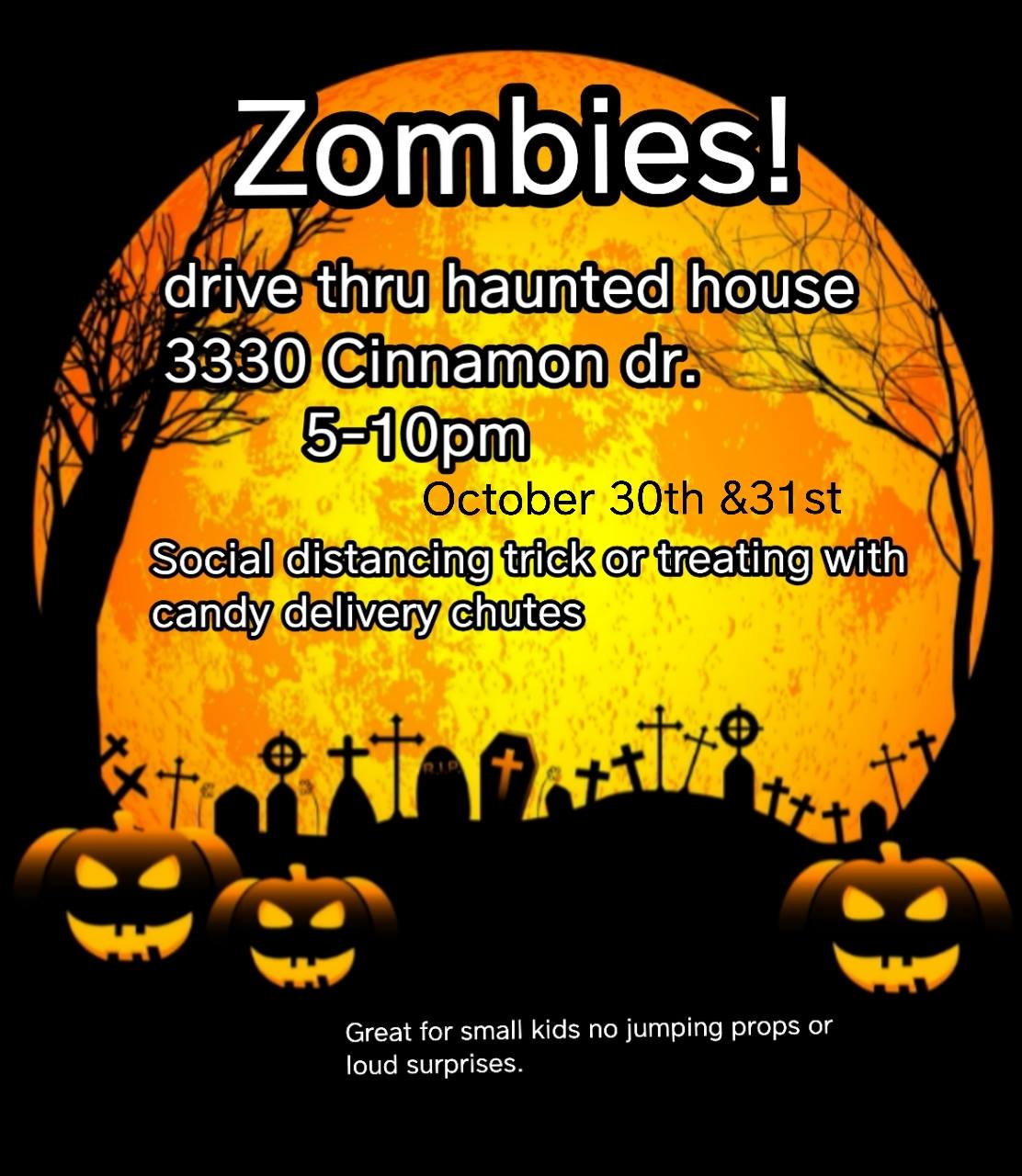 Zombie Drive Through Haunted House
