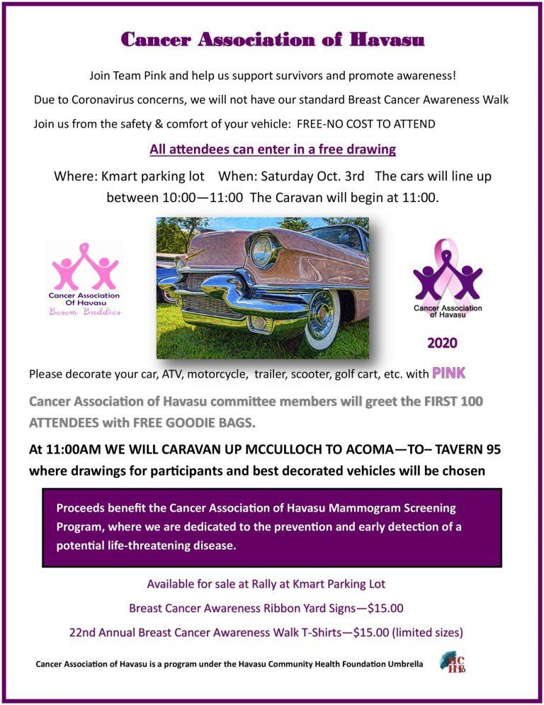 Breast Cancer Awareness Caravan