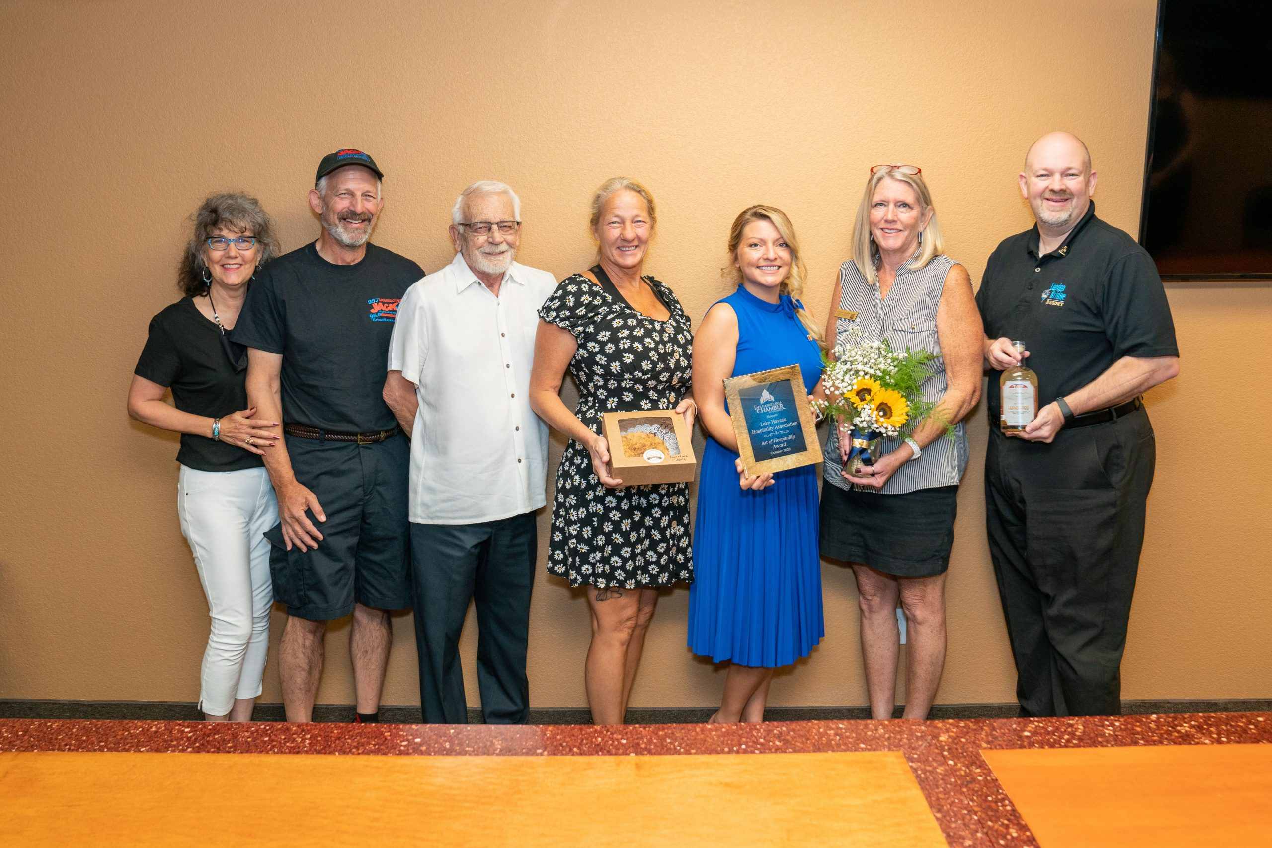 Chamber's Prize Patrol Honors Outstanding Members And Individuals