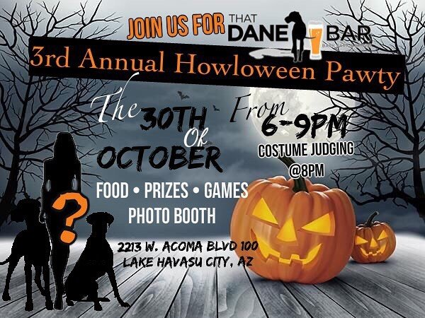 That Dane Bar Howloween Pawty