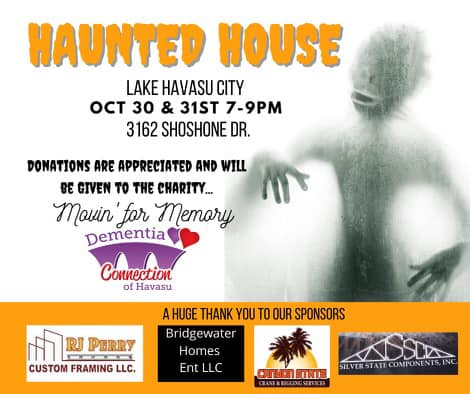 Haunted House Fundraiser for Dementia Connection of Havasu