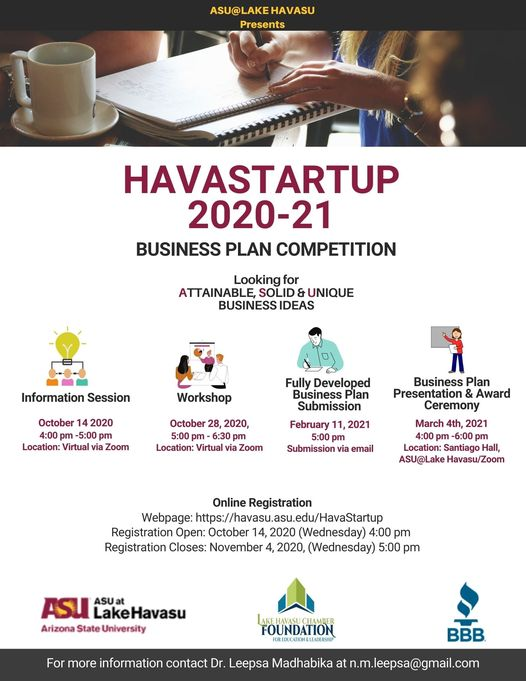 Second Annual HavaStartup Competition Begins And Seeks Unique Business Plans From Competitors