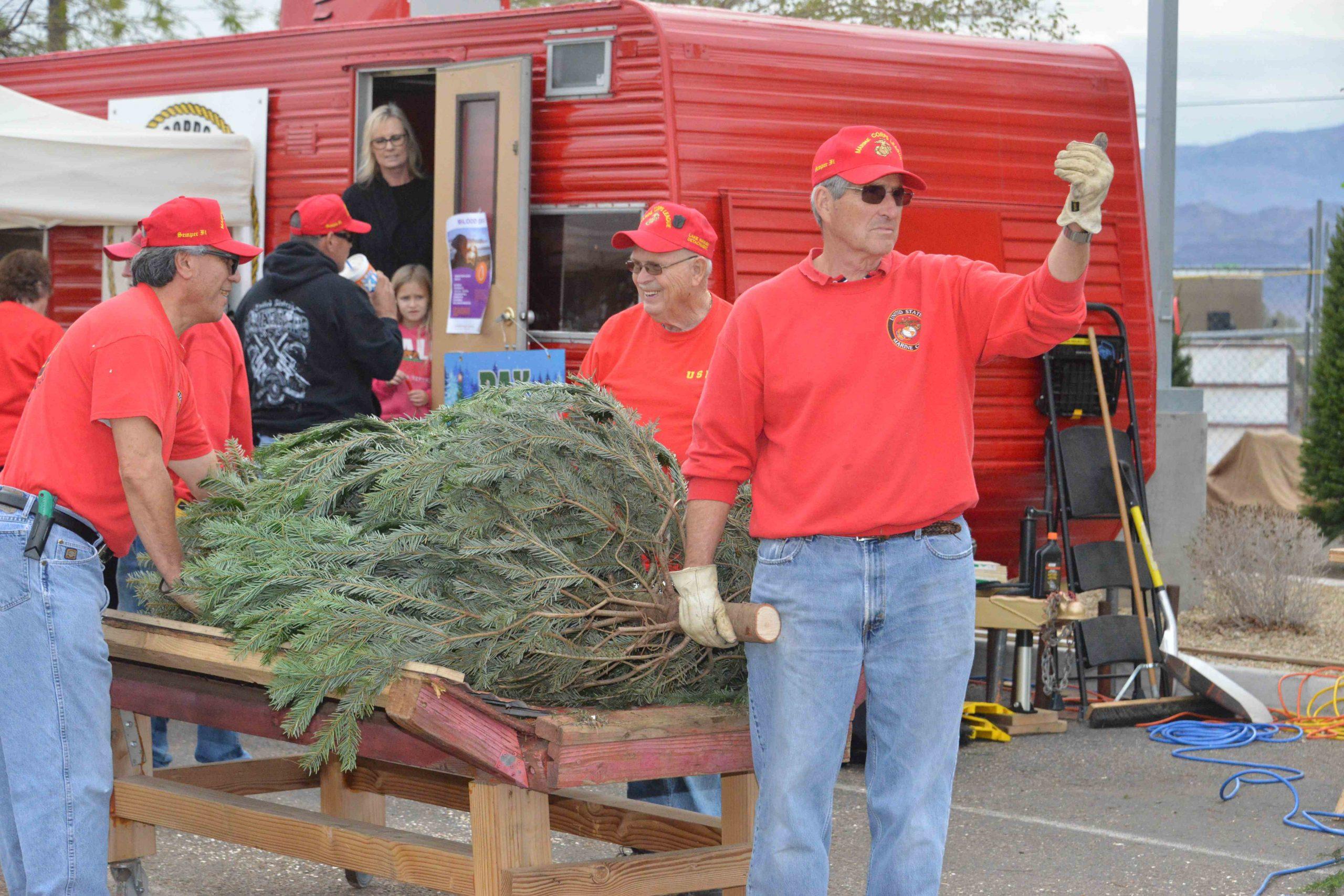 Marine Corps League Live Tree Sales Begin Nov. 29
