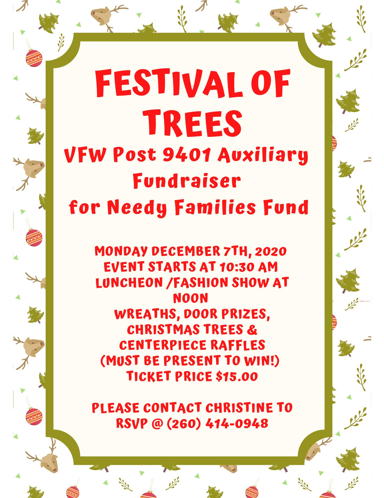 VFW Post 9401 Festival of Trees