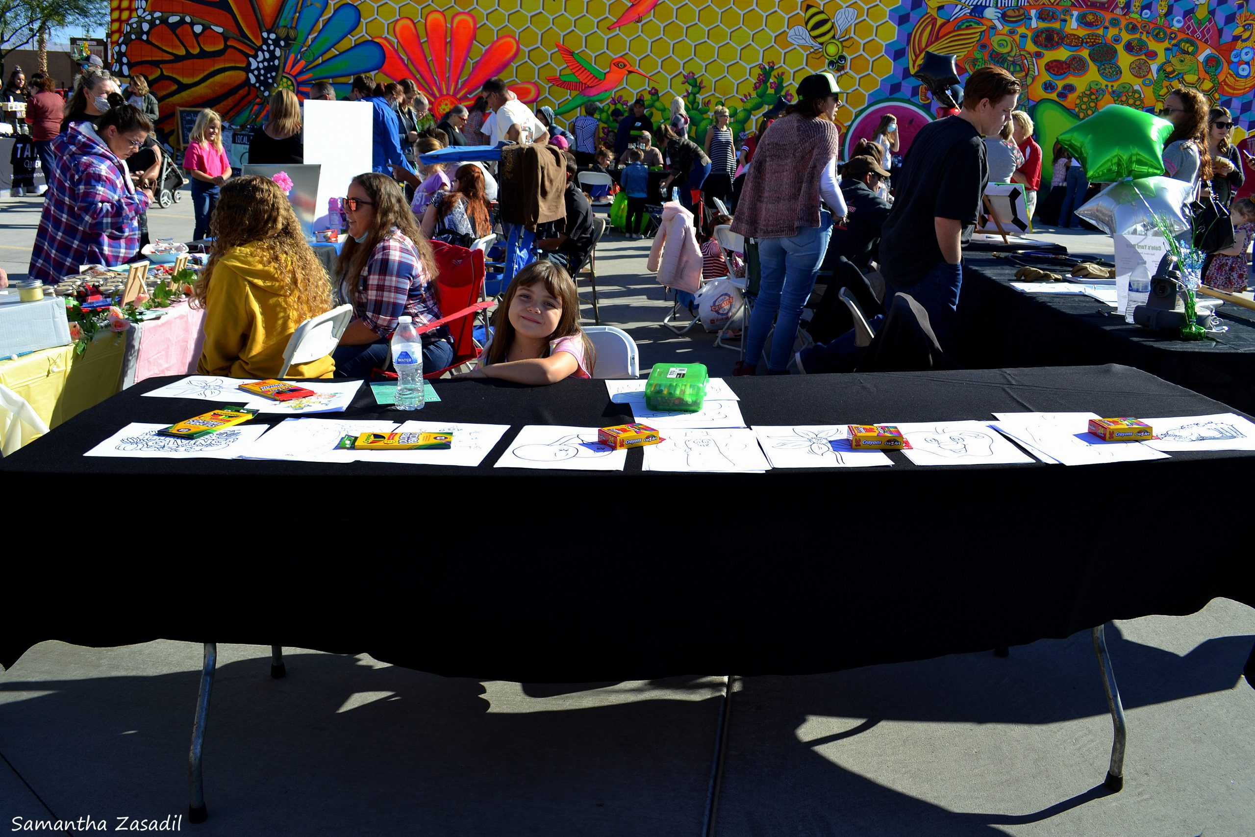 Kids Share Their Creative Talents At Youth Market