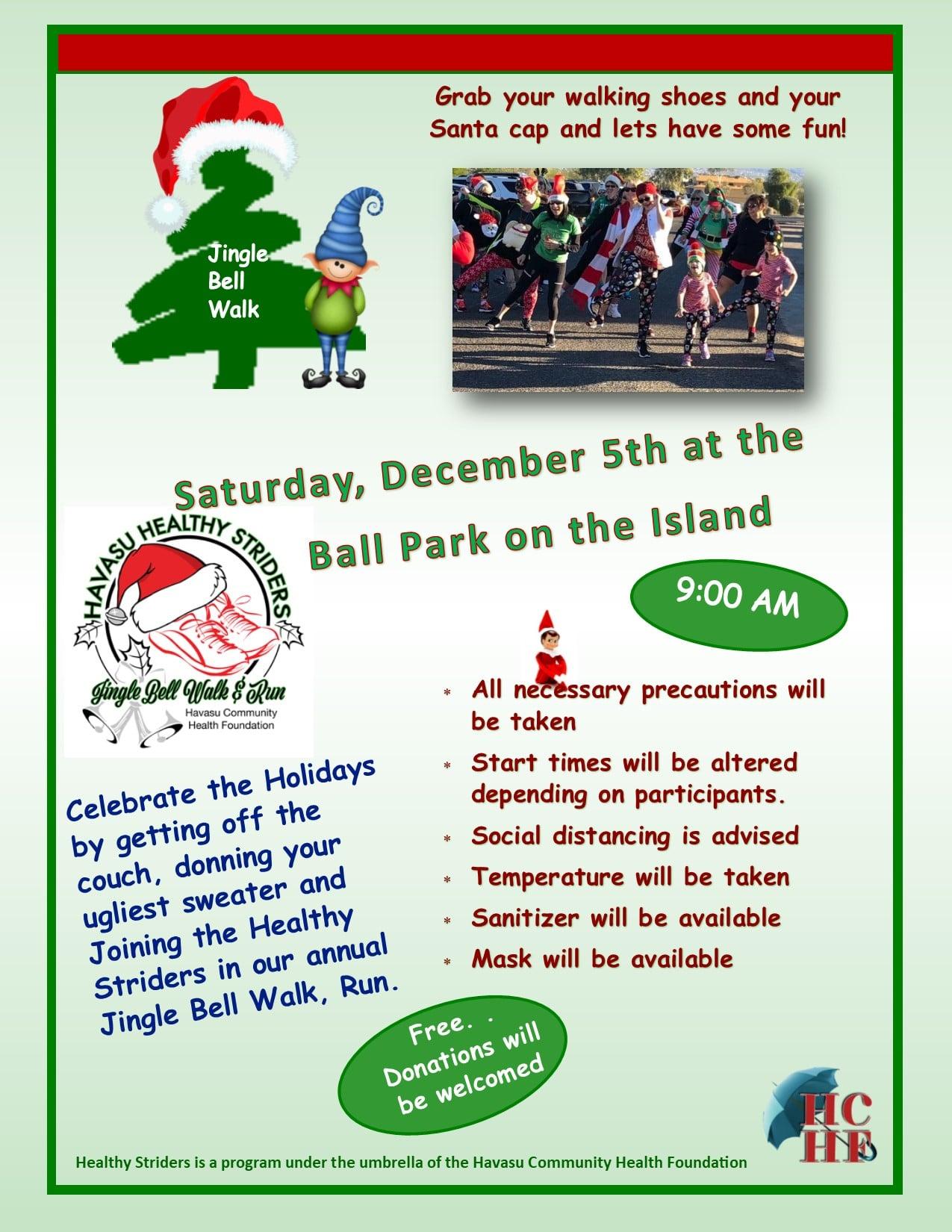 Jingle Bell Walk Run