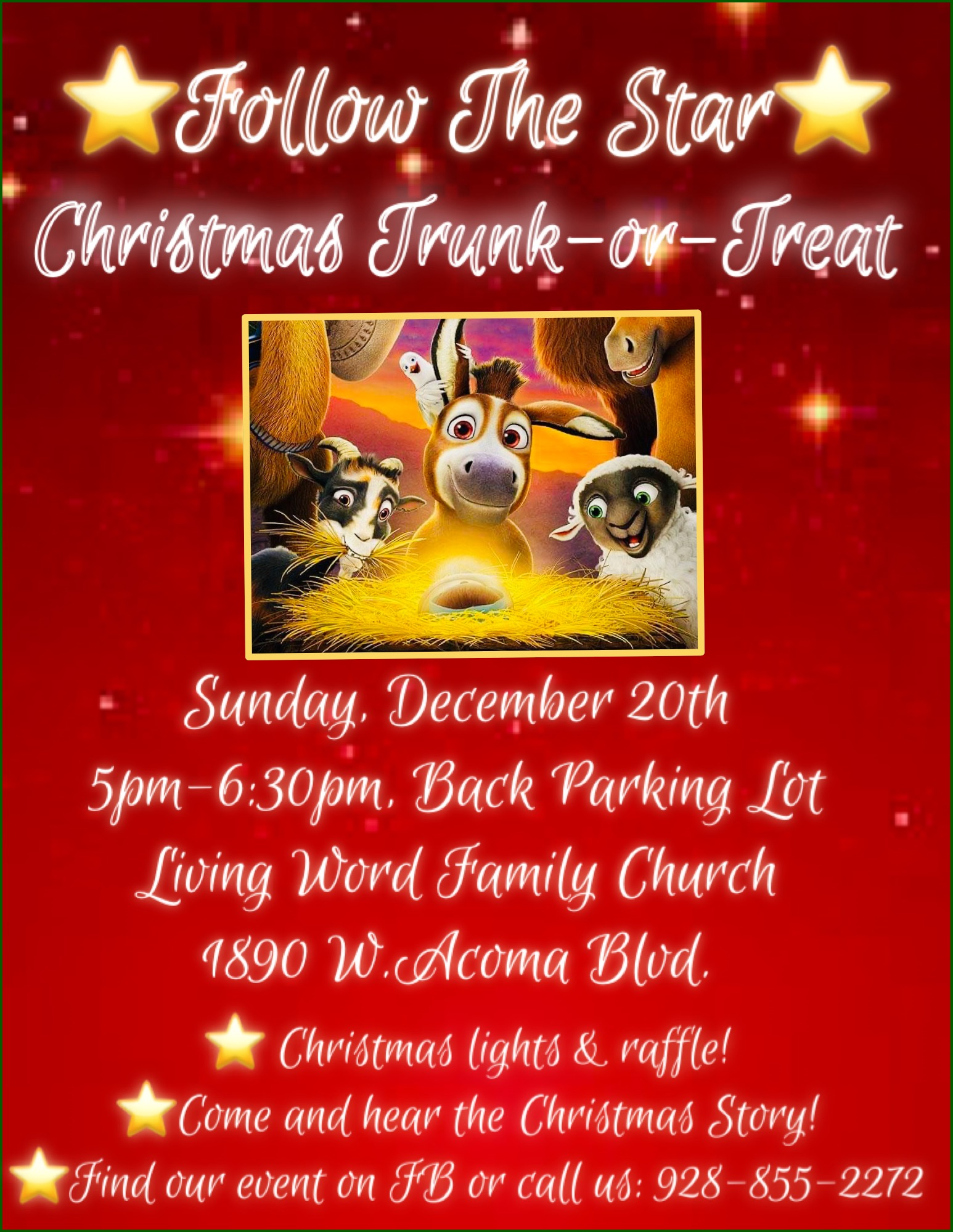Christmas Trunk or Treat