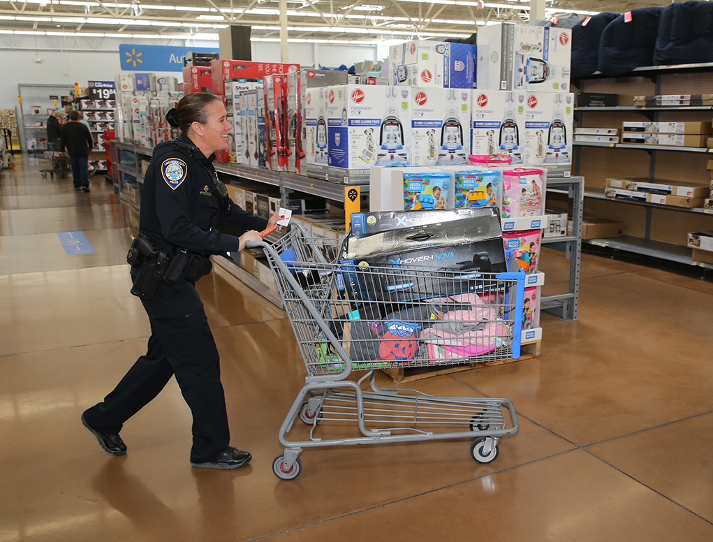 Annual Shop With A Cop With A Twist This Year