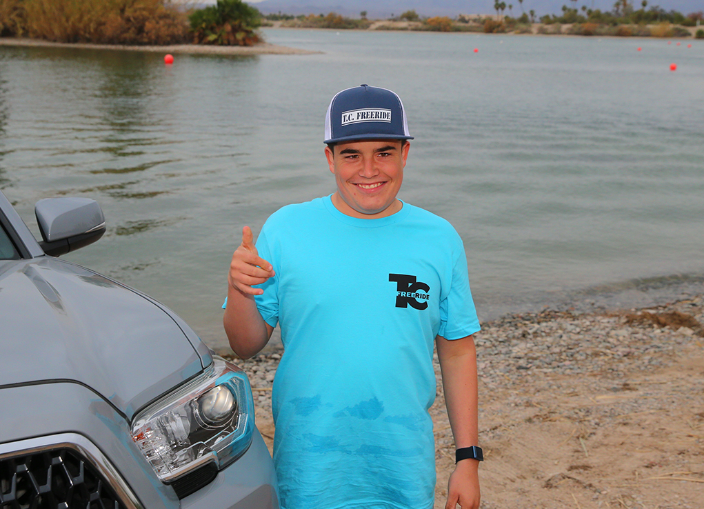 Havasu Teen Defies Doctor's Expectations And Takes To Water Sports