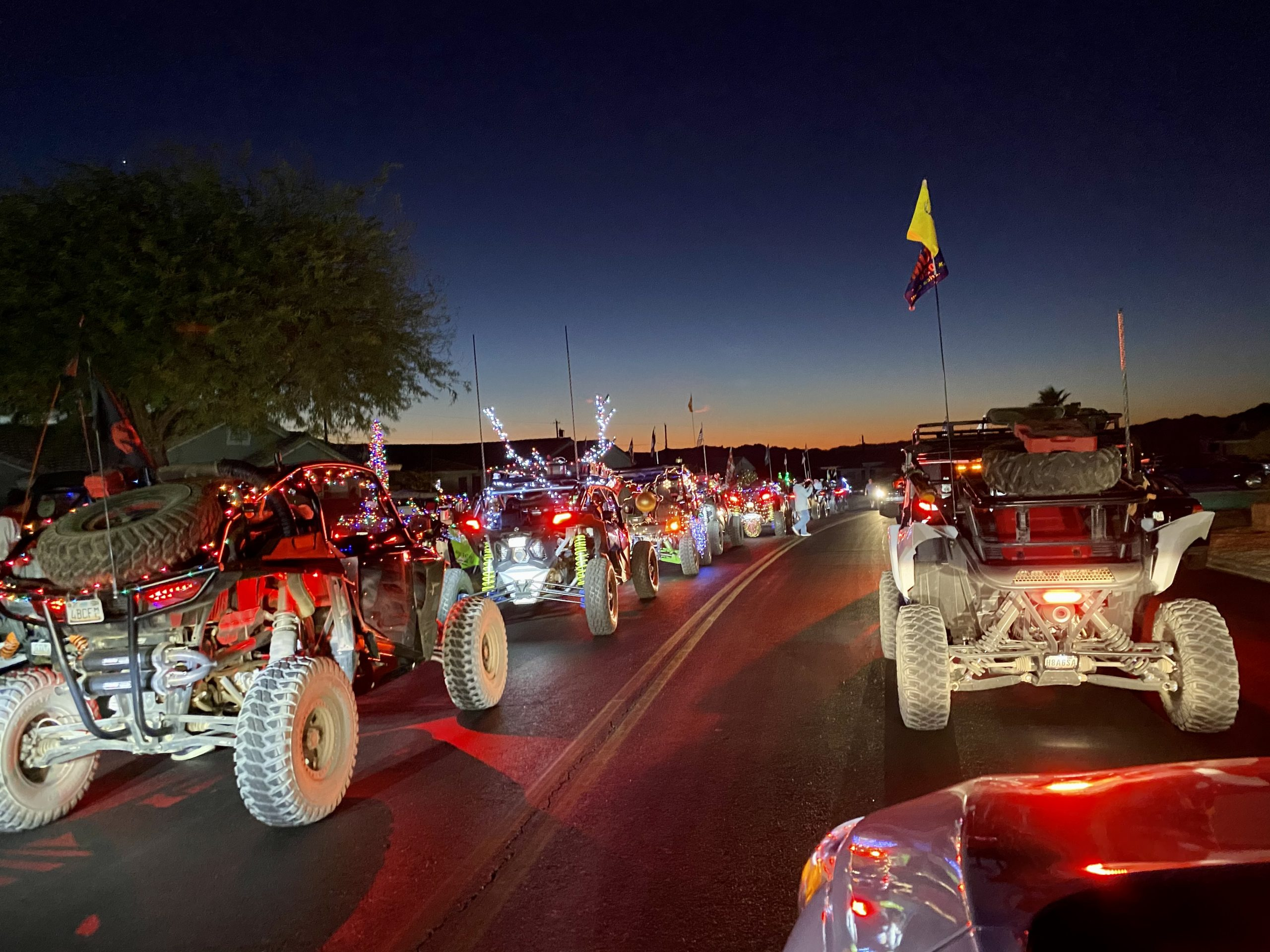 Ride Havasu's 2nd Annual SxS For Seniors Donates Over 500 Gifts