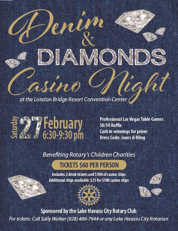 Lake Havasu City Rotary Club Denim And Diamonds Casino Night