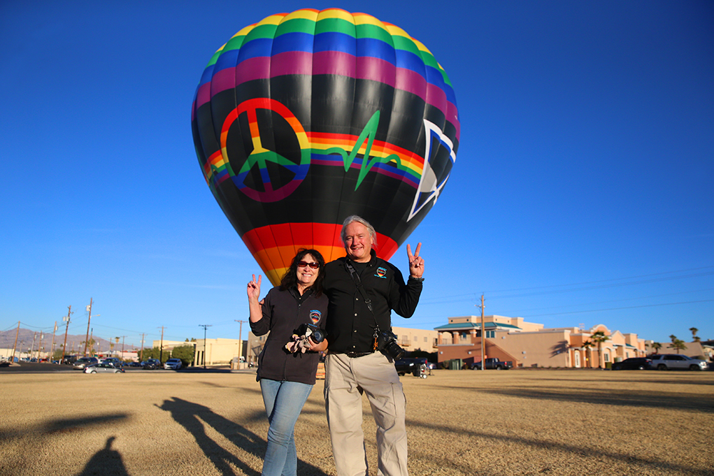 Balloon Enthusiasts Make The Most Of Festival Cancellation
