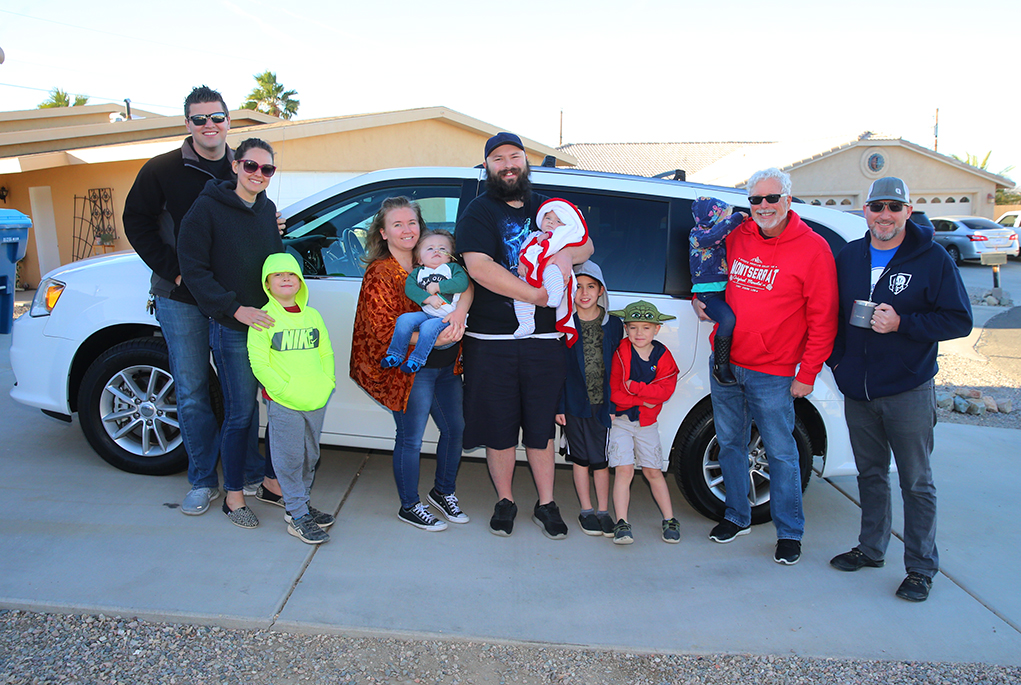 Havasu Family Surprised By Post-Christmas Blessing