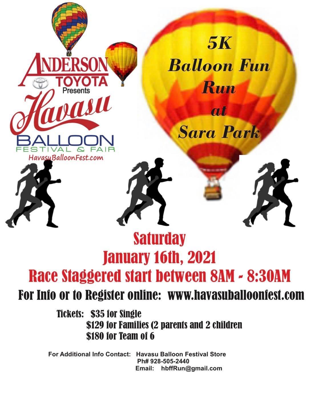 Balloon Fest 5K Fun Run