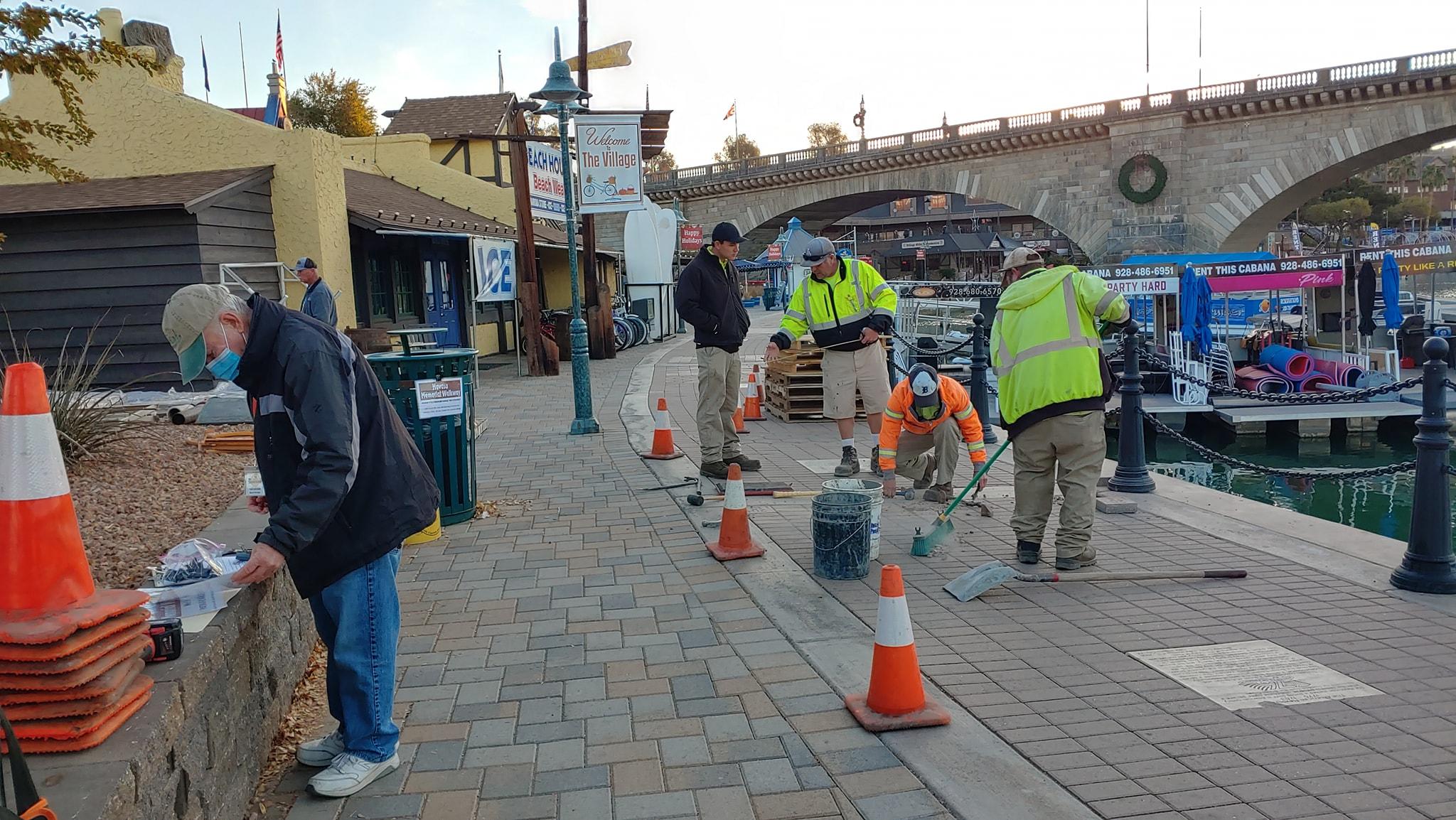 Memorial Walkway Plans Altered By Virus Surge