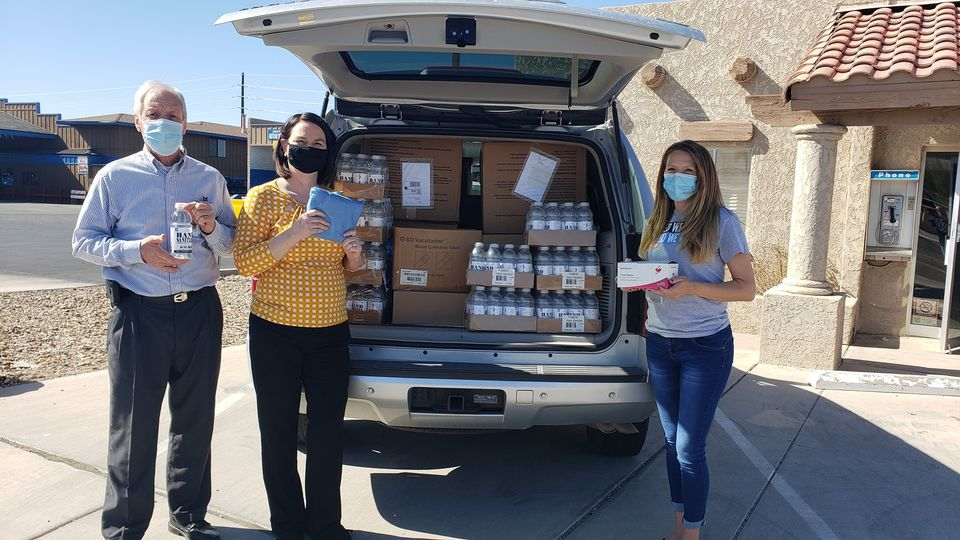 River Cities United Way Donates PPE To Hospice Of Havasu