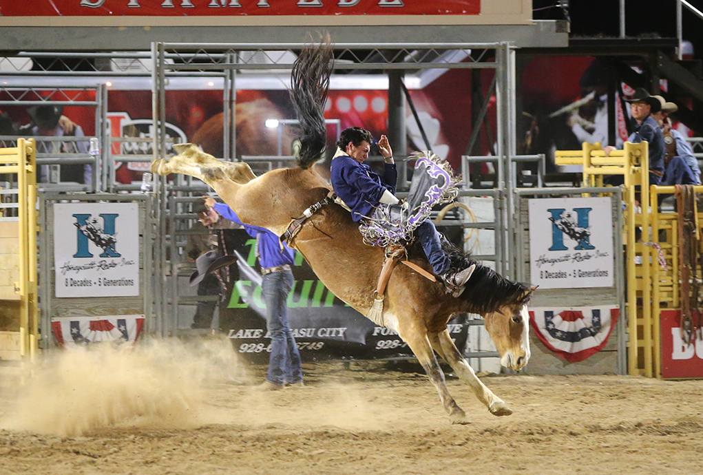 Exciting Rodeo Action Today At Havasu Stampede