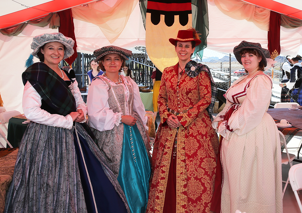 Lords and Ladies Frolicked At The London Bridge Renaissance Faire
