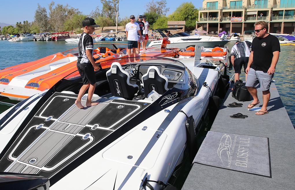 Desert Storm Boat Parade