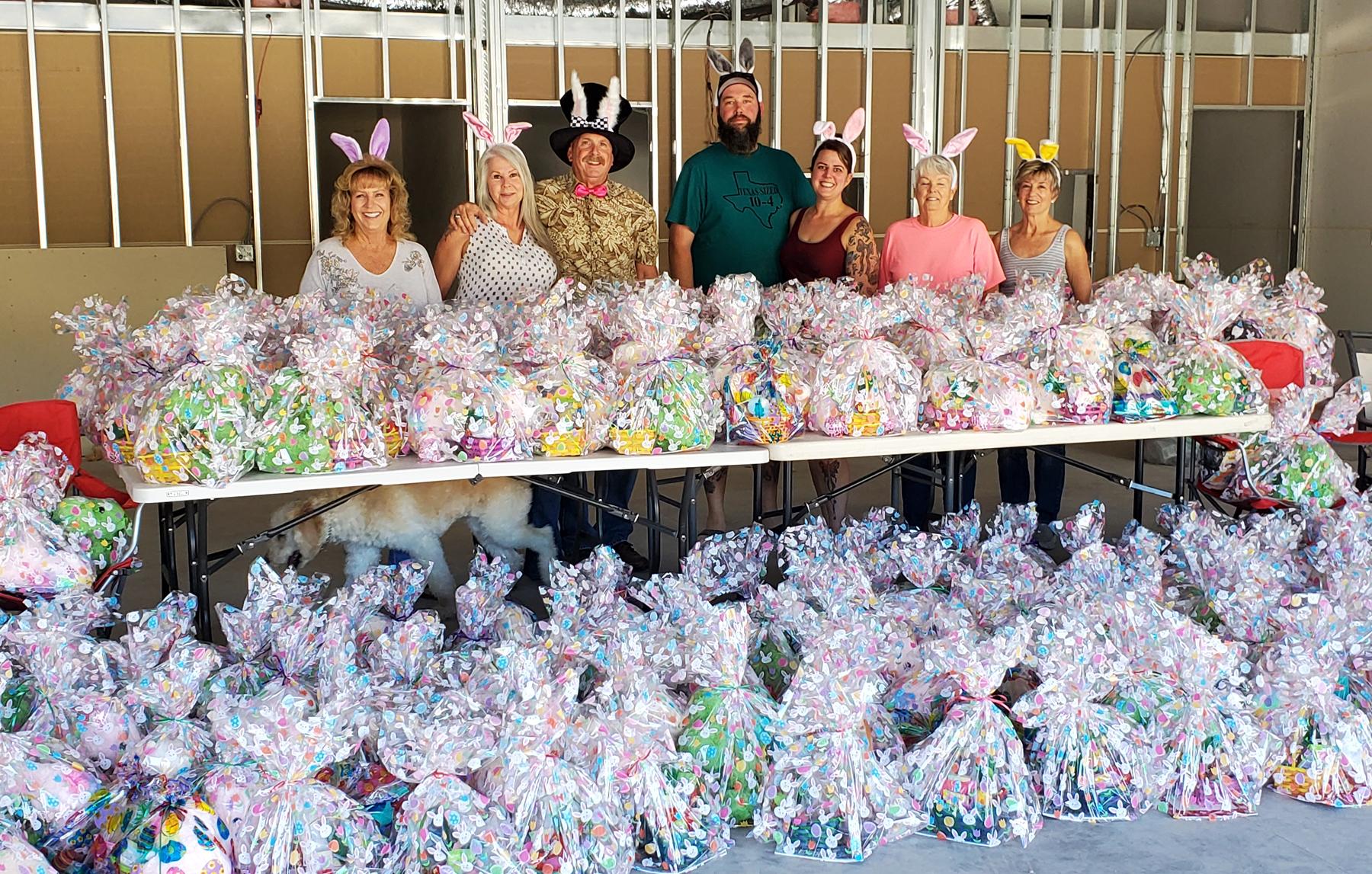 Kiwanis Easter Bunnies Make Holiday Joyful For H.A.V.E.N. Families