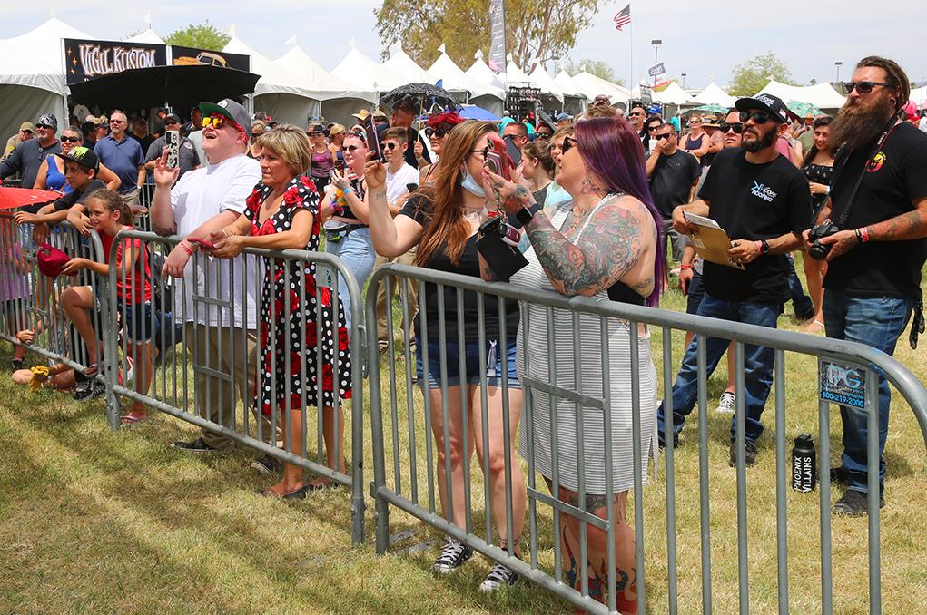 Rockabilly Reunion crowd