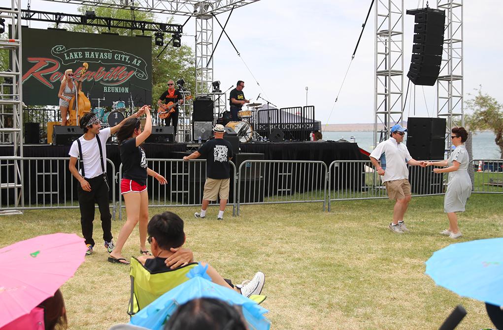 Rockabilly Reunion dancing