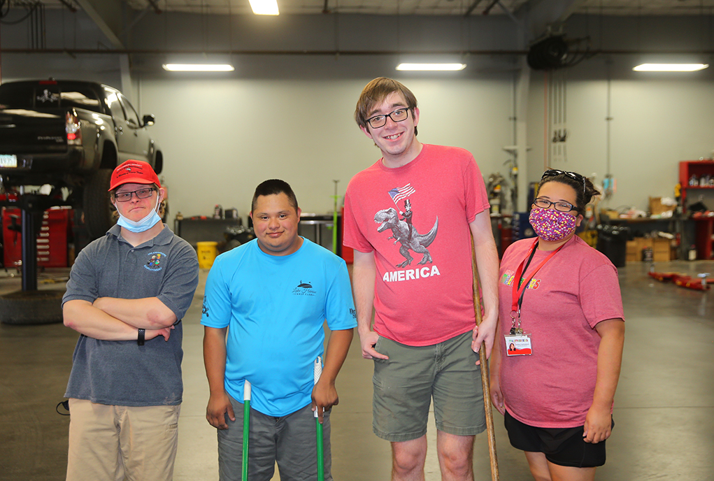 Milemarkers Provides Employment Opportunities To Young Adult Members