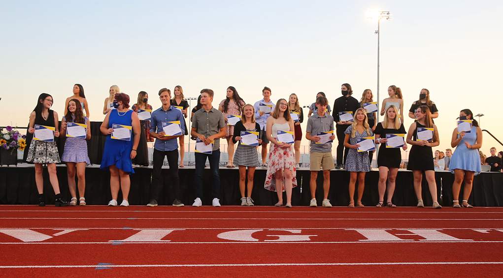 Evening of Excellence Rewards Hard-Working LHHS Students