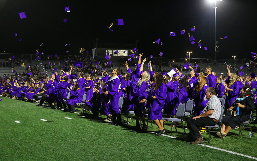 LHHS Graduates Cross The Stage To Their Future